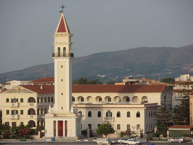 Agios Dionysos Church, Belltower in Zakynthos Town