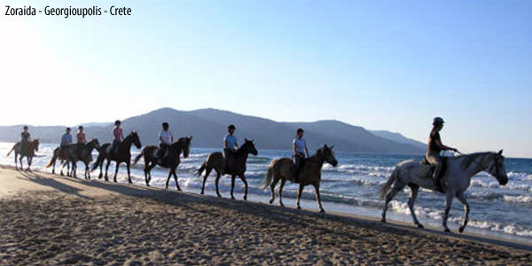 Crete horseback riding