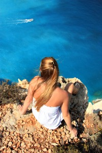 Travel adventure in Greece