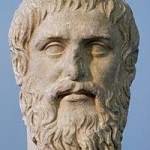 Plato (428-427 to 348-347 BC): copy of portrait bust by Silanion