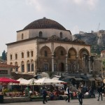 Monastiraki square and station, Athens