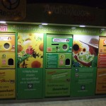 Recycling machine in Athens