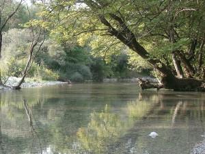 Aoos river, Epirus, Greece
