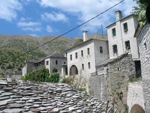 Syrrako houses, N. Tzoumerko, Epirus