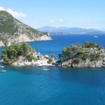 The bay of Parga, Epirus