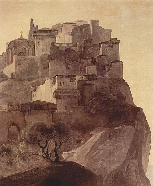 Parga by Francesco Hayez (1791–1882)