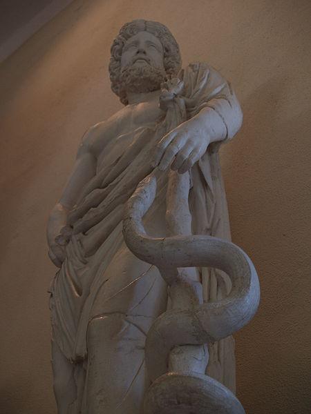 Statue of Asklepios - Museum of Epidaurus Theatre