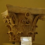 Corinthian capital - Archaeological Museum of Epidaurus