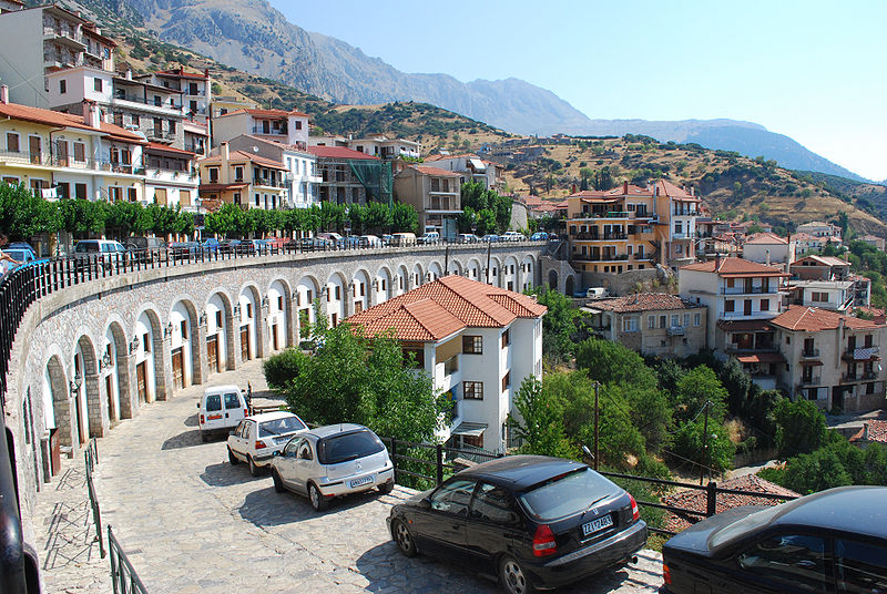 Arachova Greece  City new picture : Distomo Arachova Antikyra in Boeotia 3 Coordinates: 38°25′N 23 ...