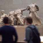 Parthenon pediment sculptures at the British Museum