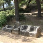 Seat remains, Dionysos