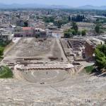 Argos ancient theatre - the oldest in Greece