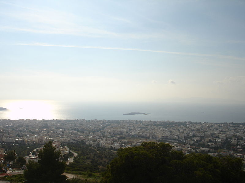Skyline of Voula