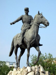 Statue of Nikolaos Plastiras (1883-1953), Greek general and politician
