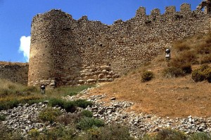 The castle on Larissa hill