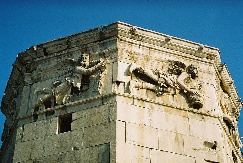 Tower of the Winds, frieze detail