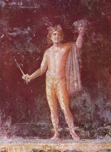 Perseus, from Pompei