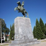 Statue of General Theodoros Kolokotronis in Tripolis, Greece