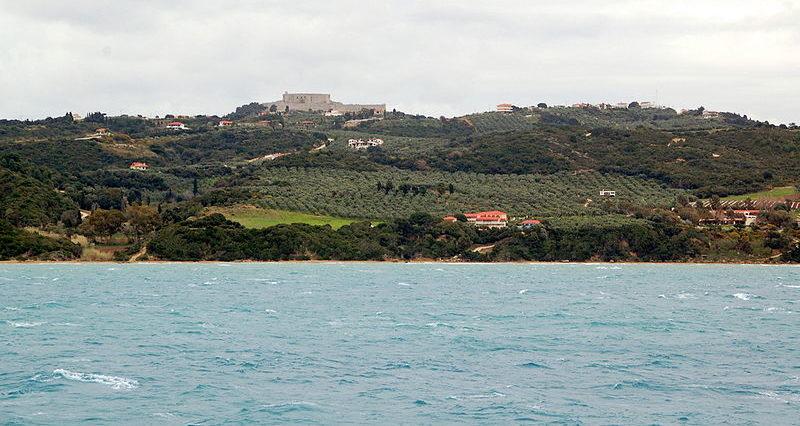 Chlemoutsi Castle in Kastro-Kyllini, Pelopponese