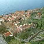 A view of downtown Monemvasia