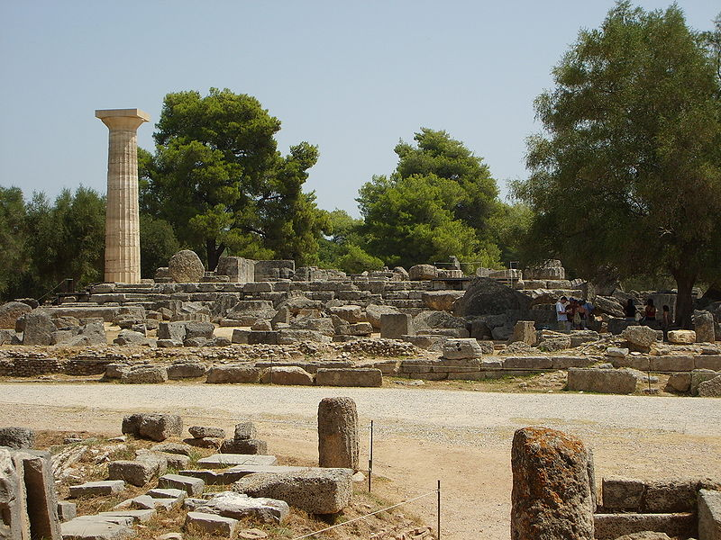 The Archaeological Site of Olympia, Greece
