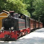 Pelion railway station in Milies