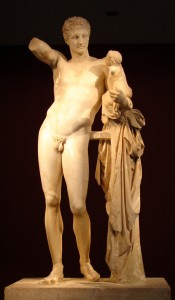 Hermes and the Infant Dionysos, Archaeological Museum of Olympia