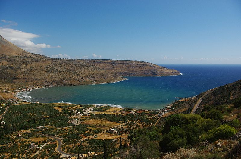 View from Mani peninsula in Peloponnese