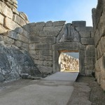 Lions Gate Mycenae, Greece