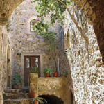A traditional house in Monemvasia, Peloponnese