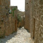 Street in Monemvasia