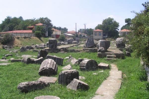 Ancient Tegea near Tripolis in Greece