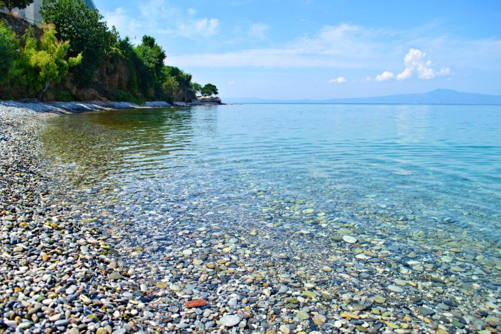 Almyros beach near Kalamata, Messinia Greece