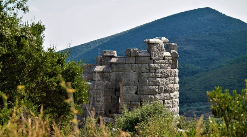 Ancient Messene, Peleponnese, Greece