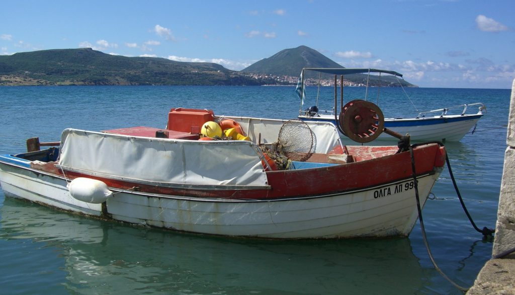 Fishingboat, Kyparissia, Peleponnese