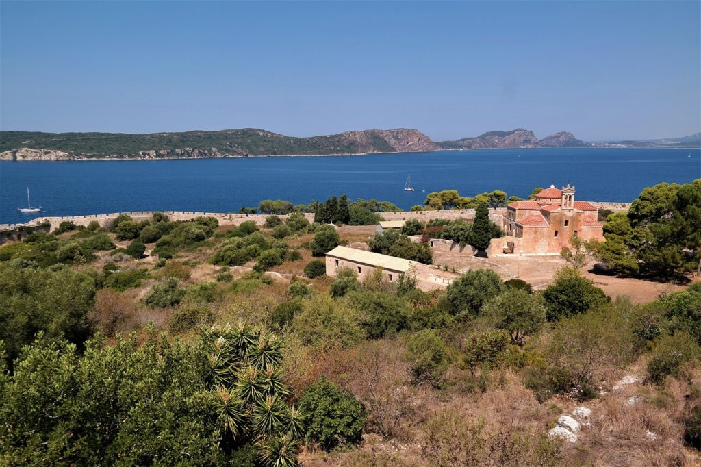 The fortress of Pylos