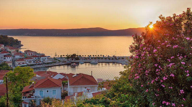 View of Pylos Port, Peleponnese