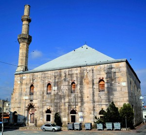 Bayezid (Mehmed I) Mosque in Didymoteicho, Thrace, Greece