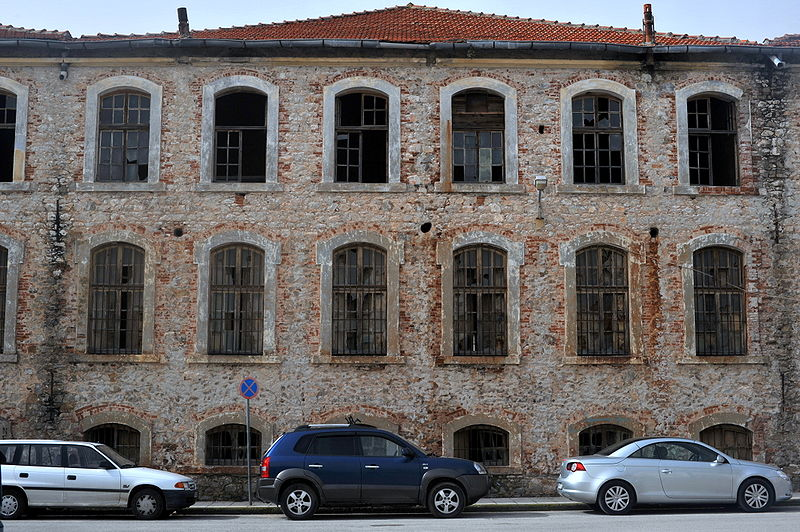 Old tobacco warehouse in Xanthi, Thrace, Greece
