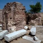 Maximianoupolis, a central plan church, Thrace, Greece