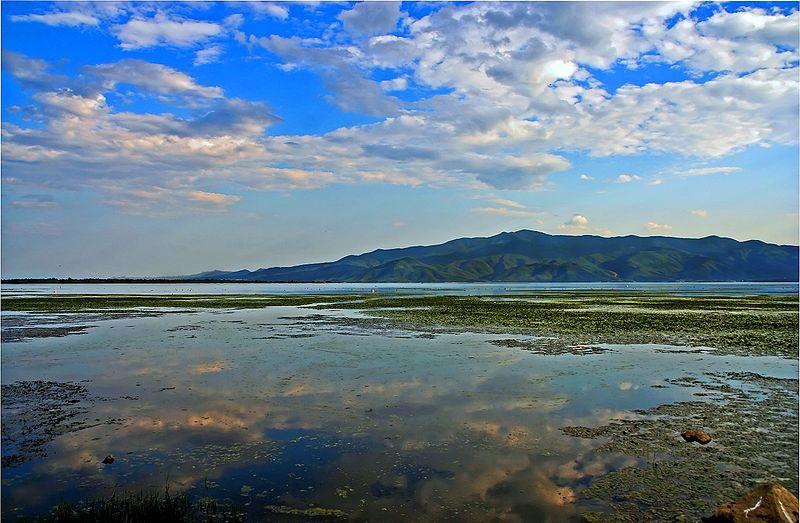 Kerkini lake in Serres, Macedonia, Greece