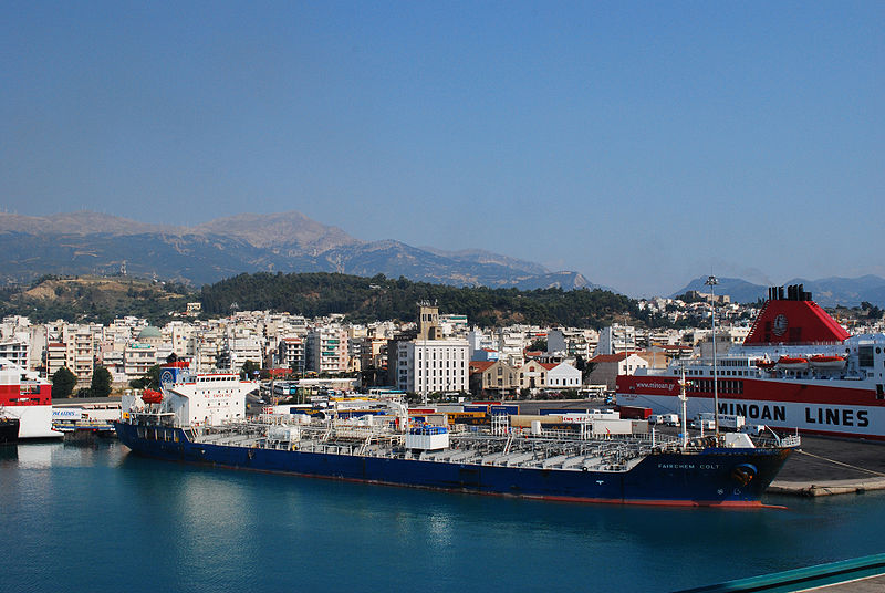Patras port, West Greece