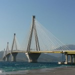 Patras bridge, Rion-Antirion, West Greece