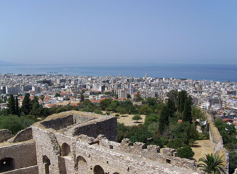 Patras (West Greece) from the fortress