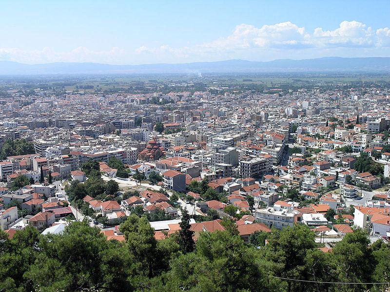 Serres overview, Macedonia, Greece