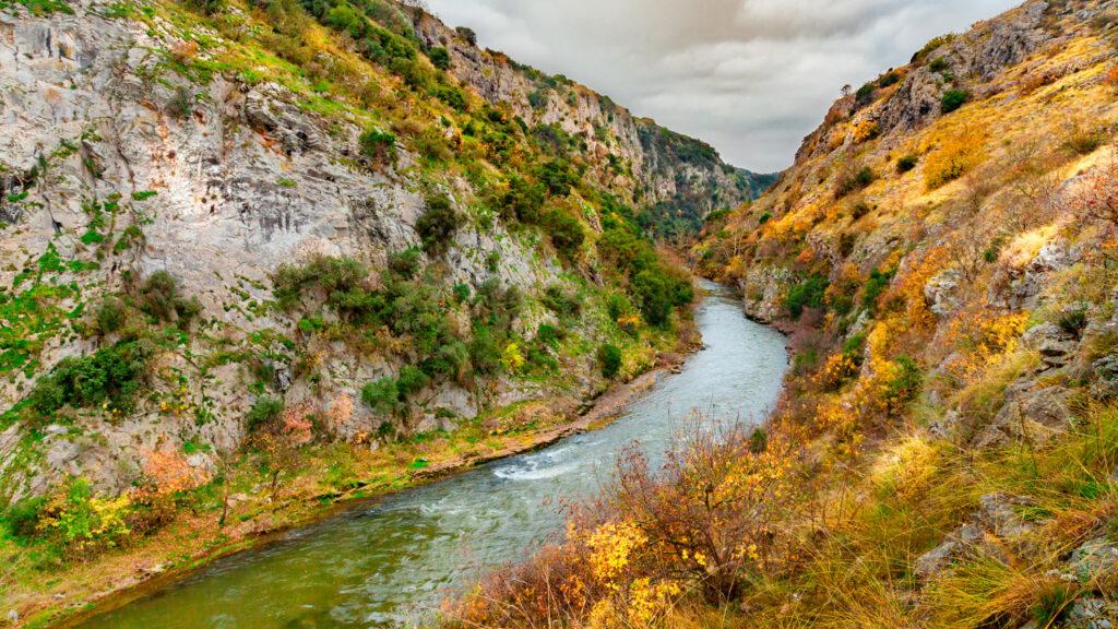 Aggitis River gorge - Alistrati Cave, Serres, Central Macedonia Greece