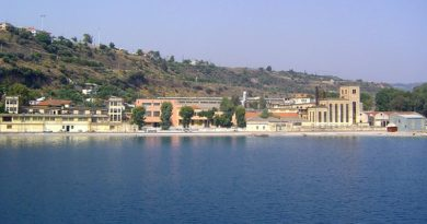Port of Aigio, north Peloponnese, Greece