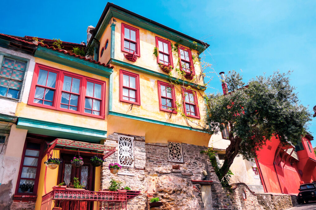 House in Kavala Old Town, Northern Greece