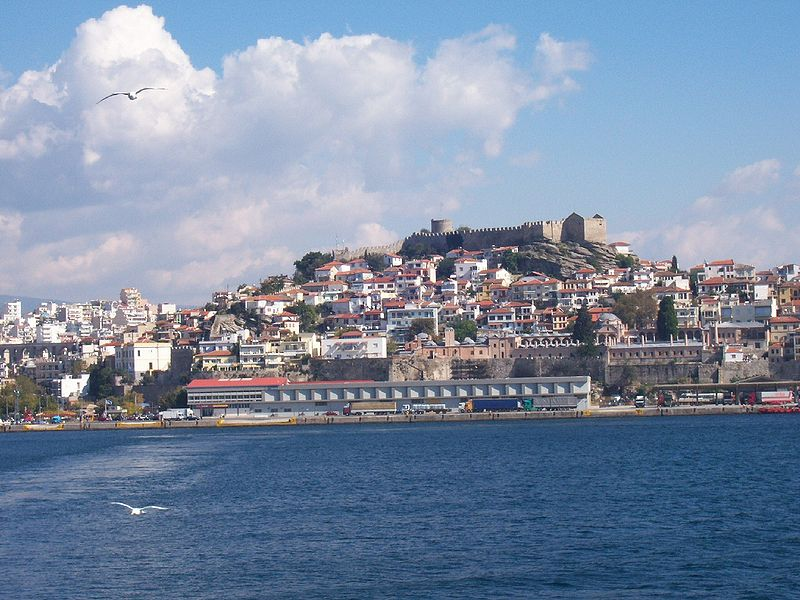 Kavala Castle, Macedonia, Greece