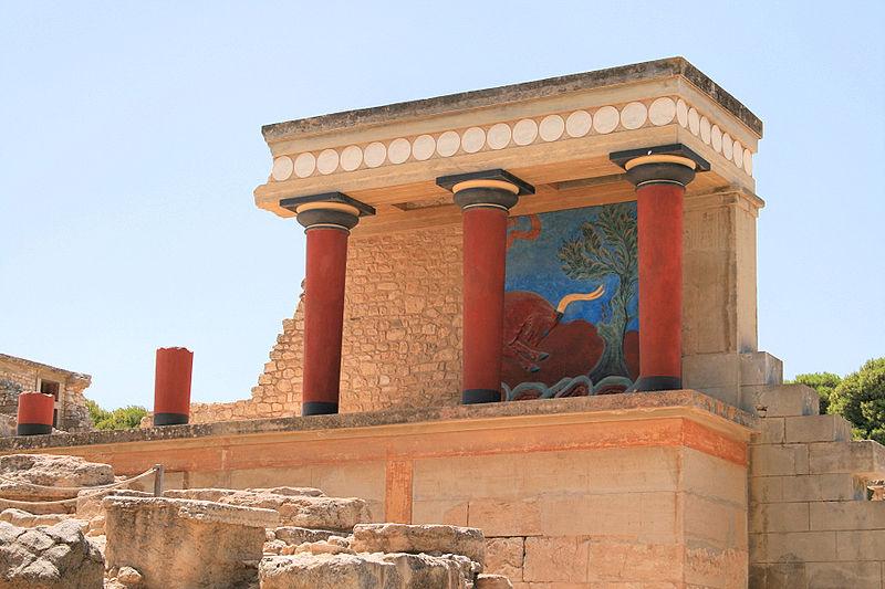 Knossos - Minoan Palace, Crete, Greece